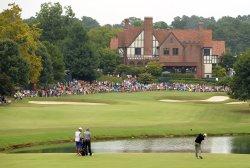 Round three of the PGA Tour Championship at East Lake Golf Club