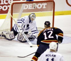 TORONTO MAPLE LEAFS AT MIAMI PANTHERS HOCKEY