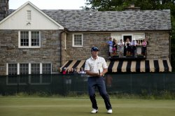 Round Two of the US Open in Ardmore, Pennsylvania