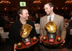 Baseball Writers Association of America annual dinner and awards in St. Louis