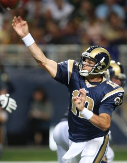 St. Louis Rams quarterback Kyle Boller