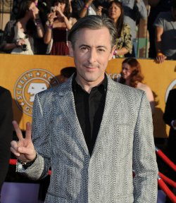 Actor Alan Cumming arrives at the 18th annual Screen Actors Guild Awards in Los Angeles