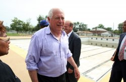 Illinois governor frees funds to build new swimming pool in East St. Louis, Illinois