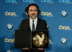 lejandro Gonzalez Inarritu wins Outstanding Director award at the 68th annual Directors Guild of America Awards