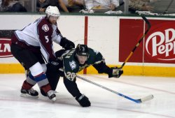 NHL PLAYOFFS DALLAS STARS VS COLORADO AVALANCHE