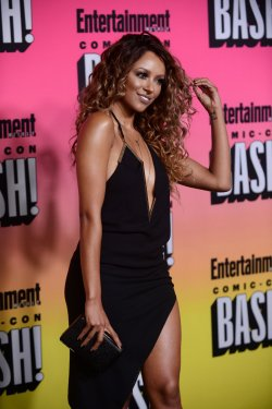 Kat Graham attends Entertainment Weekly's Comic-Con Bash in San Diego