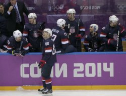 Men's hockey bronze medal game at the 2014 Winter Olympics