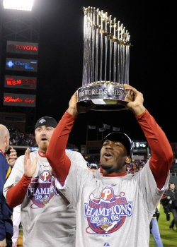 Game 5 of the World Series between the Tampa Bay Rays and Philadelphia Phillies in Philadelphia