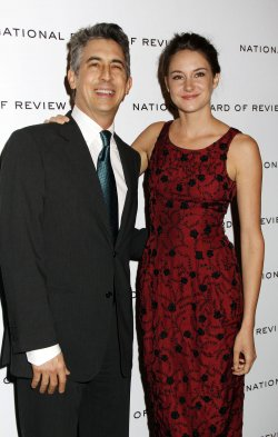 Alexander Payne and Shailene Woodley arrive for the National Board of Review Awards in New York