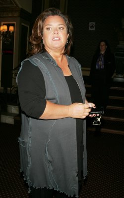 Rosie O'Donnell arrives for Bea Arthur Memorial Service in New York