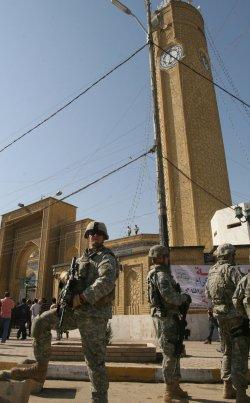 Al-Aima bridge reopens in Baghdad