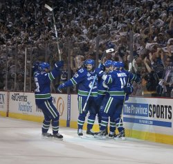 Second game of NHL Stanley Cup Final, Vancouver Canucks home to Boston Bruins
