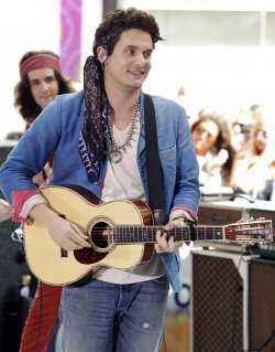 John Mayer performs on the NBC Today Show