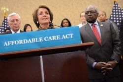 House Democrats Hold a Press Conference on the Three Year Anniversary of the Affordable Care Act in Washington