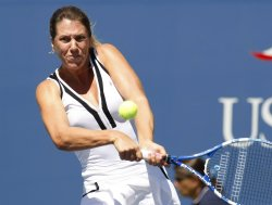 Melanie Oudin and Olga Savchuk compete at the U.S. Open in New York