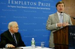 JOHN BARROW RECEIVES TEMPLETON PRIZE