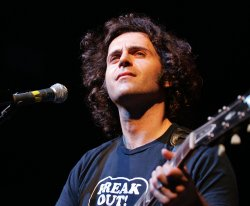 Dweezil Zappa performs in concert in Pompano Beach, Florida