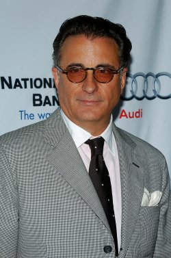 Andy Garcia attends Backstage at the Geffen fundraiser in Los Angeles