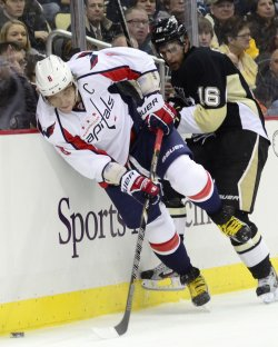 Capitals Alex Ovechkin in Pittsburgh