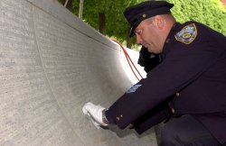 Fallen officers honored in engraving ceremony