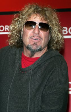 "Sammy Hagar promotes his new book ""Red"" at in New York"