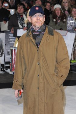 """Ron Howard attends The UK premiere of """"Django Unchained"""" in London."""