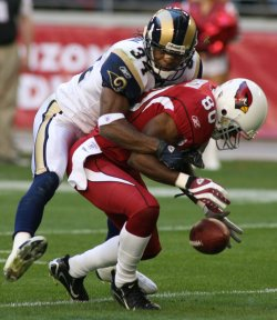 NFL St. Louis Rams vs Arizona Cardinals in Glendale, Arizona