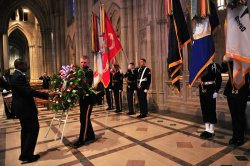 Wreath Laying Ceremony for President Woodrow Wilson's Birthday in Washington