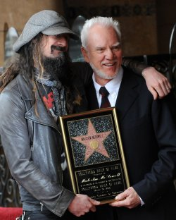 Malcolm McDowell receives a star on the Hollywood Walk of Fame in Los Angeles