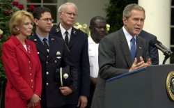 Bush thanks agencies and aid workers