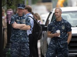 Police Respond to Reports of Gunshots at Navy Yard in Washington, D.C.