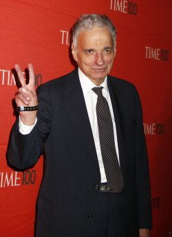 Ralph Nader arrives for the Time 100 Gala in New York
