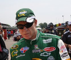 Mark Martin Hopes for First Brickyard 400 Win in Indianapolis, Indiana.