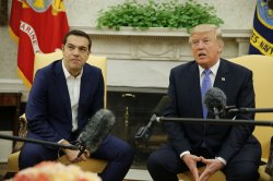 President Trump meets with Greek Prime Minister