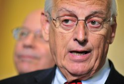 Rep. Bill Pascrell (D-NJ) speaks alongside Rep. Peter DeFazio (D-OR) in Washington