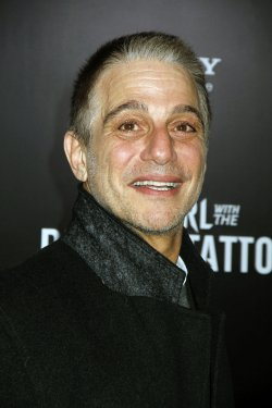 "Tony Danza arrives for ""The Girl With The Dragon Tattoo"" Premiere in New York"