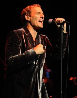 Michael Bolton performs at Royal Albert Hall in London