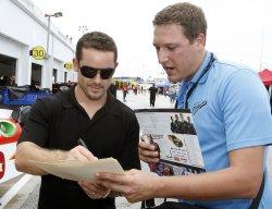 NASCAR Sprint Cup Practice at Daytona Beach, Florida