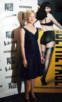 """FILM PREMIERE OF """"THE NOTORIOUS BETTIE PAGE"""""""
