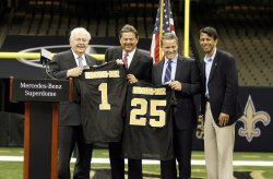 Mercedes-Benz and the New Orleans Saints reached a 10-year naming rights agreement
