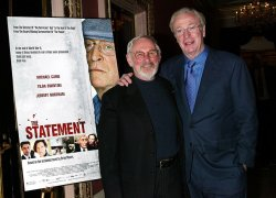 "COCKTAIL PARTY FOR MICHAEL CAINE'S NEW MOVIE ""THE STATEMENT"""