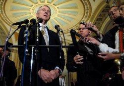 SENATOR MCCAIN TALKS TO REPORTERS IN WASHINGTON