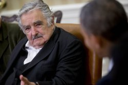 Obama Meets With President Jose Mujica Cordano Of Uruguay