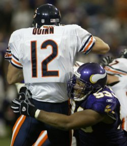CHICAGO BEARS AT MINNESOTA VIKINGS