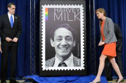 Harvey Milk Forever Stamp Unveiled in Washington