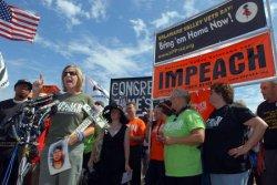 PROTESTORS CALL FOR BUSH IMPEACHMENT DURING MARCH IN WASHINGTON