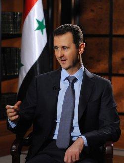 Syria's President Bashar al-Assad Meets UN's Kofi Annan in Syria