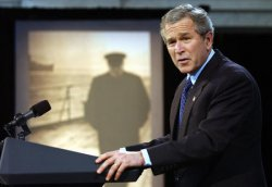 BUSH HONORS CHURCHILL