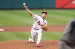 St. Louis Cardinals starting pitcher Luke Weaver