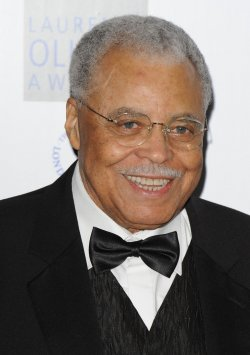 "James Earl Jones attends ""The Laurence Olivier Awards"""